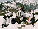 Anti tank crew in alpine environment. (Image opens in new window)