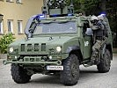 "Light multirole vehicle ""Husar"" in use by the military police. (Image opens in new window)"